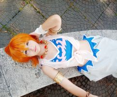 Nami-swan ~ by IcchPOTATO