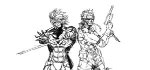 METALGEAR by Nine-Bullet-Revolver