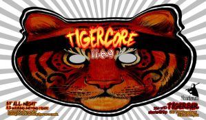 tigercore flyer front by reactionarypdx