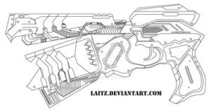 Lethal Eliminator: Blueprints by Laitz