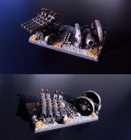 Dwarf cannons by Teuril