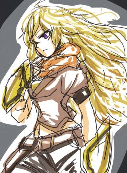 Yang Xiao Long by Kevin-mk5