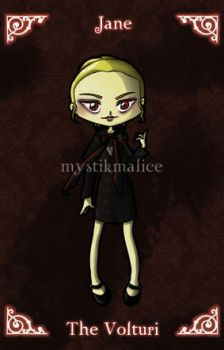 Twilight - The Volturi - Jane by mystikmalice