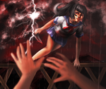 [YANDERE SIM] NO! Don't Come Any Closer!!! by IviEnchant