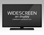 Widescreen Art Display by RadialBeamz