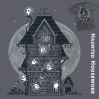Haunted Housework - tee by InfinityWave