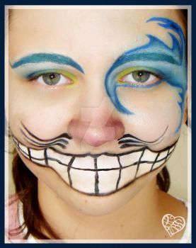 Cheshire Cat Make Up by rockin-vs