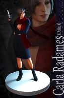 RE6 Pinup - Carla Radames (Default) by xTh13teeNx