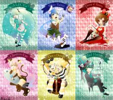 Vocaloid in wonderland by RoezNoah917