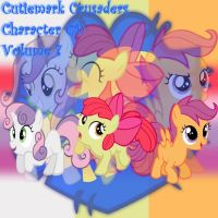 Cutie Mark Crusaders Album Cover 7 by YuiRainbowStar