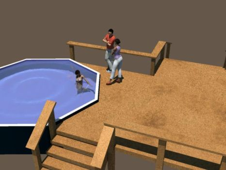 Simple Pool Deck ::scale:: by KLForbes