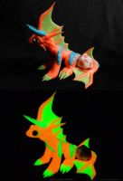 Orange Glow Dragon by ZeitgeistDragon
