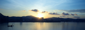 Hong Kong Sunrise by supakilla9