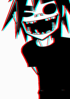 Gorillaz 2D in 3D by 2DisGod