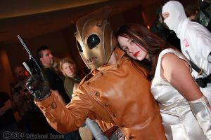 The Rocketeer and Jenny 1 by Insane-Pencil