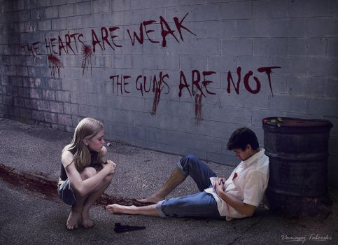 The hearts are weak, the guns are not by DomagojTaborski