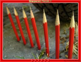 Sharpened Pencils 7: Spikes by richardxthripp