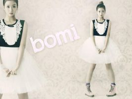 Apink Bomi Wall-p by wishinthebox