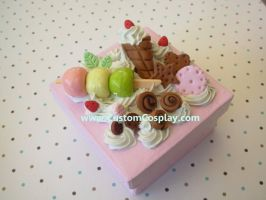 Square sweets box by The-Cute-Storm