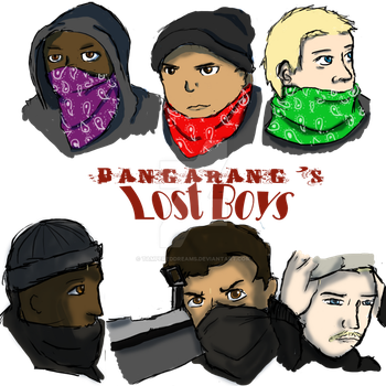 Bangarang's Lost Boyz by TamperedDreams