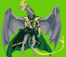 Loki Dragon Colored by Spellcheck-15