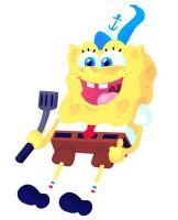 Mr. Squarepants by keepinitreel78
