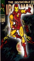 Classic Iron Man by RWhitney75