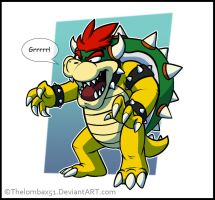 False Bowser by RatchetMario
