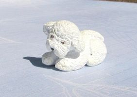 Bichon Sculpture by LeiliaK