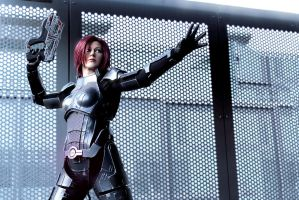 Commander Shepard: Adept by LittleBlondeGoth