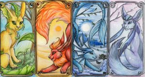 the four seasons by Schiraki