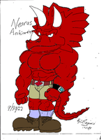 Nearus Acchiceratops by reg92