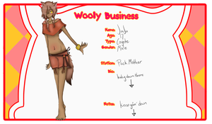 Wooly Bussiness App - Juju by I-Stole-Duh-Cookies