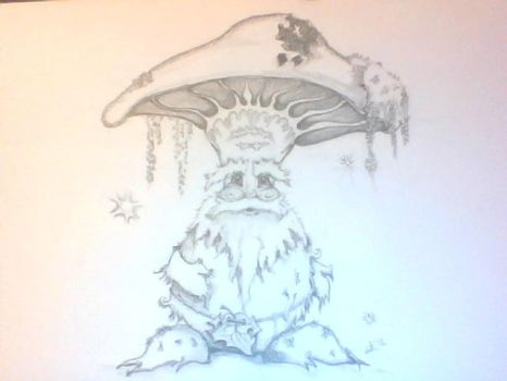 Mushroom Character (unnamed III) by RogueAsylum