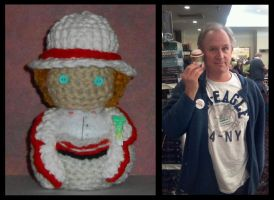Fifth Doctor Amigurumi Doll by Craftigurumi