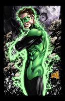 Green Lantern 2012 Colored by hanzozuken