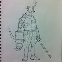 Hellboy by thesometimers
