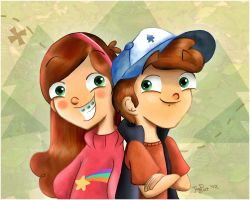 Gravity Falls :D by heeyjayp17