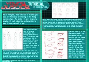 Young Justice Tutorial by Hieis-Wolf-Girl