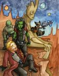 Guardians of the Galaxy by JoJo-Seames