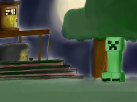 Mr. Creeper's Coming for You... by IamtheProxy