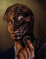 Two Face by Ovi-One