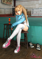 Marie Rose Gym #2 - After training by YumieDolly
