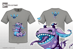 Cute Monsters Design - little soul-eater by Shigo-Oxymoron