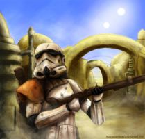 SandTrooper Star Wars by Fluorescentteddy