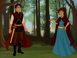 Erik And Sophia Meet For The First Time by SabrinaofArendelle