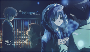 Yuki and Kyon - Innocence by simplyKia
