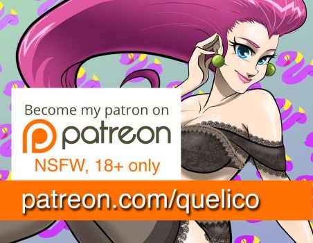 Patreon March Advert by quelico