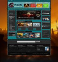 Game Website Joomla by princepal