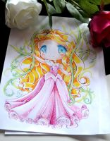 Chibi Princess Aurora by Lighane